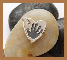 Silver Hand & Footprint Charms